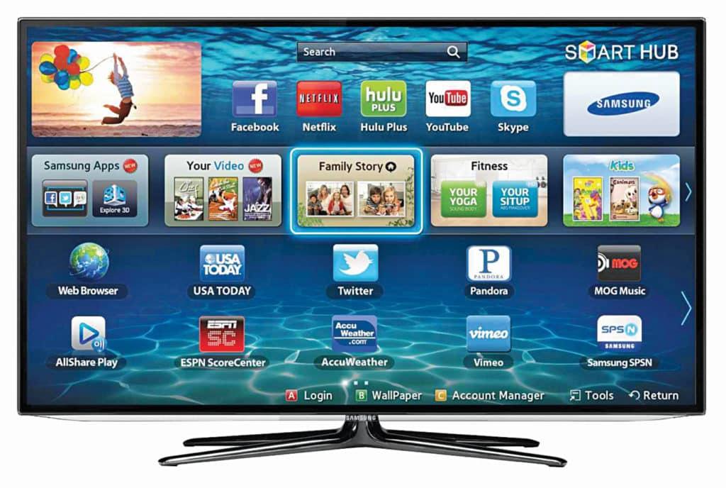A smart TV platform